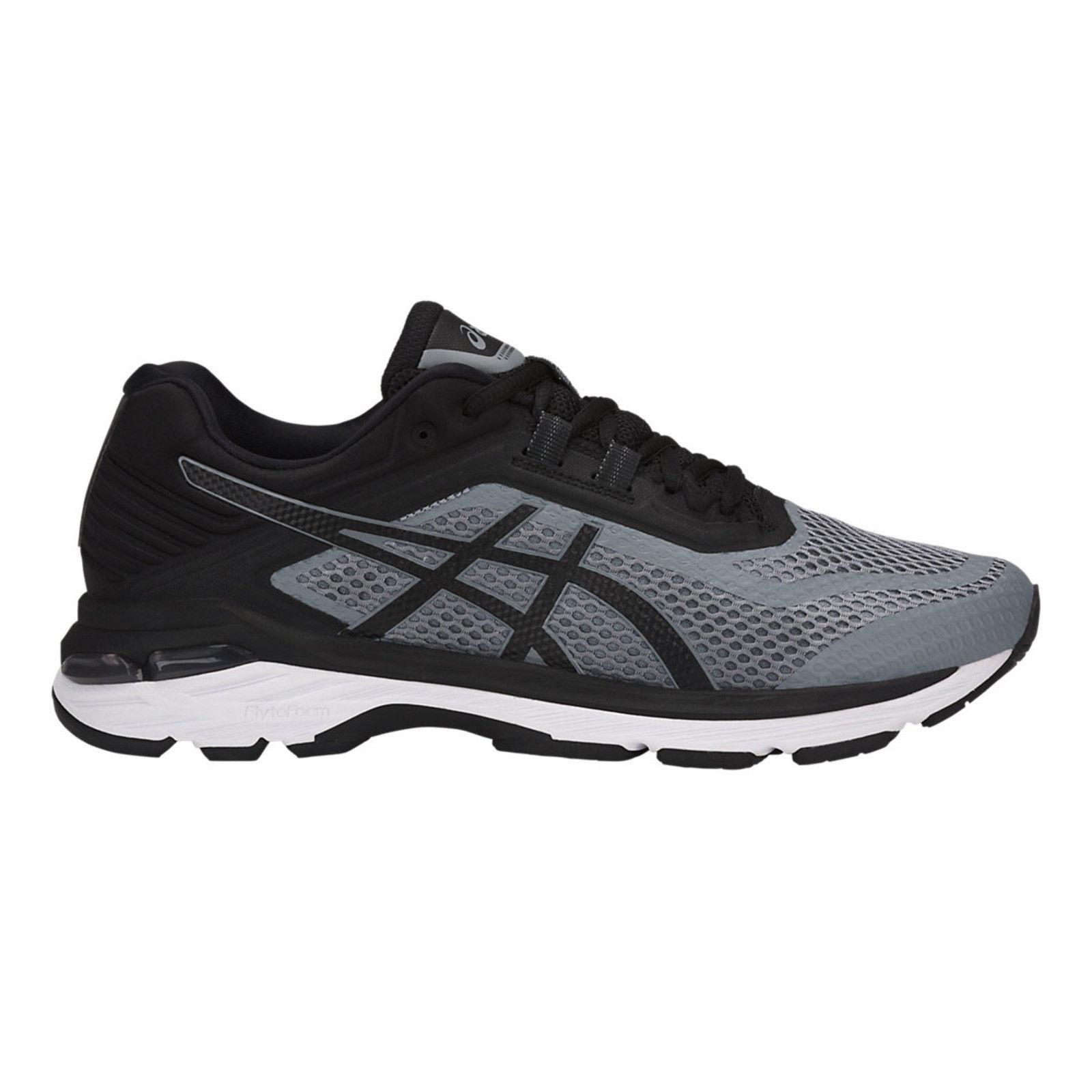 Asics GT-2000 6 Men's T806N.1190 Stone Grey Black White Running shoes (2E) US 11