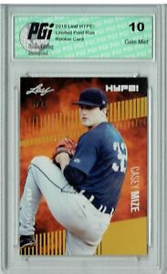 Casey Mize 2018 Leaf HYPE! #11 The #1 of 25 Rookie Card PGI 10