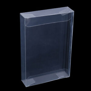 10Pcs-clear-carts-case-sleeve-box-for-nintend-N64-cartridge-cib-protectors-FHYA