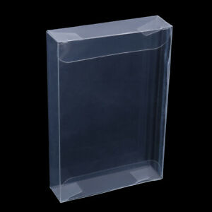 10Pcs-clear-carts-case-sleeve-box-for-nintend-N64-cartridge-cib-protectors-CF