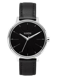 NEW-Nixon-A108-000-Women-039-s-Kensington-Leather-Black-Watch-NO-BOX-INCLUDED