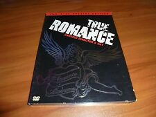 True Romance (DVD, 2002, 2-Disc Widescreen Unrated) Christian Slater Used OOP