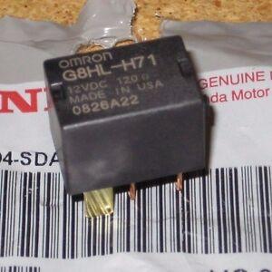 39794SDAA03 OEM HONDA ACURA POWER RELAY MICRO ISO OMRON AC
