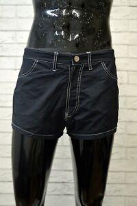 Costume-EMPORIO-ARMANI-Uomo-Taglia-44-Mare-Piscina-Pantaloncino-Shorts-Rete-Blu