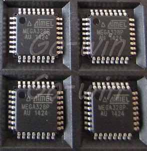 5PCS-ATMEL-ATMEGA328P-AU-TQFP-32-IC