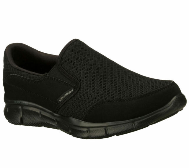 Skechers Equalizer Persistent Wide 51361ew BBK Black Mens US Size 13 UK 12