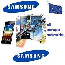 LIBERAR CUALQUIER SAMSUNG EUROPA - UNLOCK SAMSUNG EUROPE ALL MODELS & NETWORKS