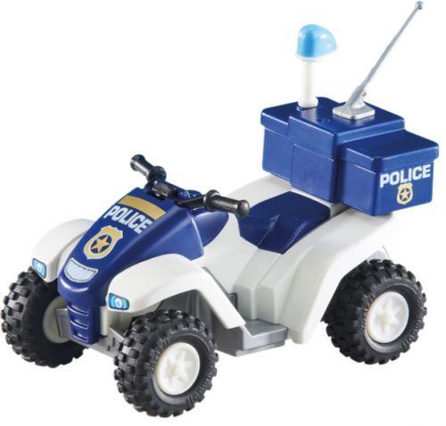 Playmobil Add On 6504 Police Quad Bike