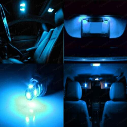 11 x Ice Blue LED Interior Light Package For 2011-2012 Infiniti G25 PRY TOOL