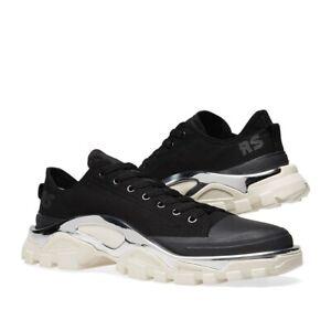 best sneakers e1d51 d579f Caricamento dellimmagine in corso ADIDAS-X-RAF-SIMONS-DETROIT-RUNNER-Core -Nero-