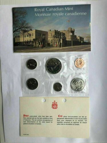 6 COINS NEW Details about CANADA 1975 PROOF LIKE MINT SET IN ...