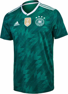 ADIDAS-Germania-Maglia-Away-2018-DFB-JERSEY-GERMANY-SHIRT-18-con-FLOCK-NUOVO