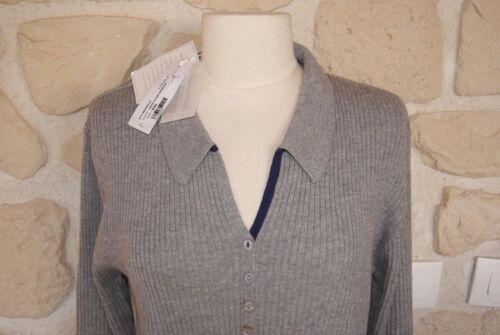Xxl Crossways grigio Marca € Merino New a Etichetta Lana Maglione Size 119 Zq76twq