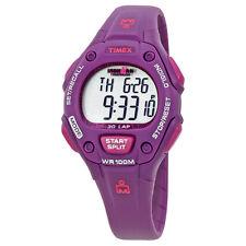 Timex Ironman Triathlon Digital Purple Resin Ladies Watch T5K756