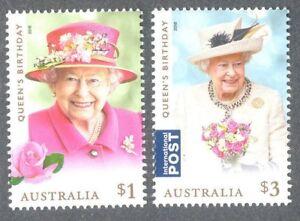 Australie 2018 Queens Anniversaire Set - - Neuf sans charnière-Royalty-afficher le titre d`origine MU4ozPBI-07163634-196443607