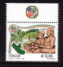 W570 ITALIA 2006 REGIONI LAZIO BANDELLA ALTA  MNH**