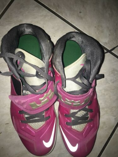 12 Pink Nike Lebron Hommes Chaussures James Sz Occasion 8N0PkOXnw