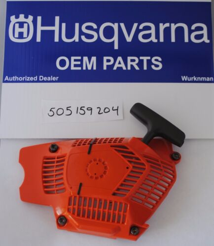 Husqvarna OEM 505159204  Chainsaw Starter Recoil Assembly  Fits 562XP 560  555