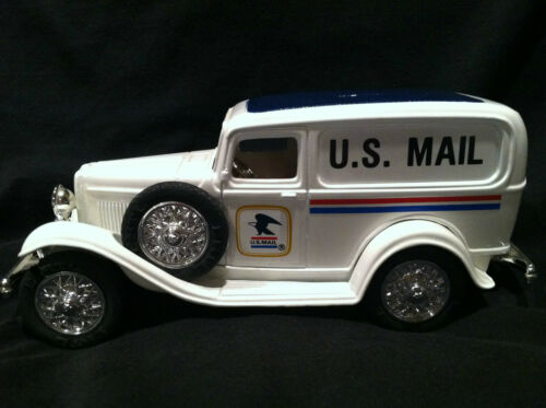 Limited edition U.S. mail 1932 panel truck bank Die Cast Metal 1989 Ertl No Box