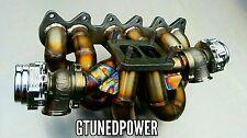 T4 twin scroll VR6 turbo manifold gtx garrett VR6T Golf R32