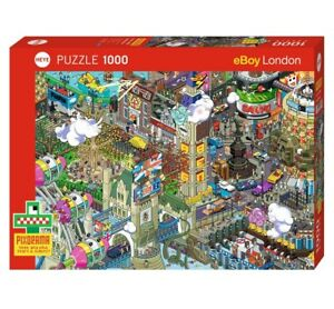 EBOY - PIXORAMA : LONDON QUEST - Heye Puzzle 29935 - 1000 Teile Pcs.