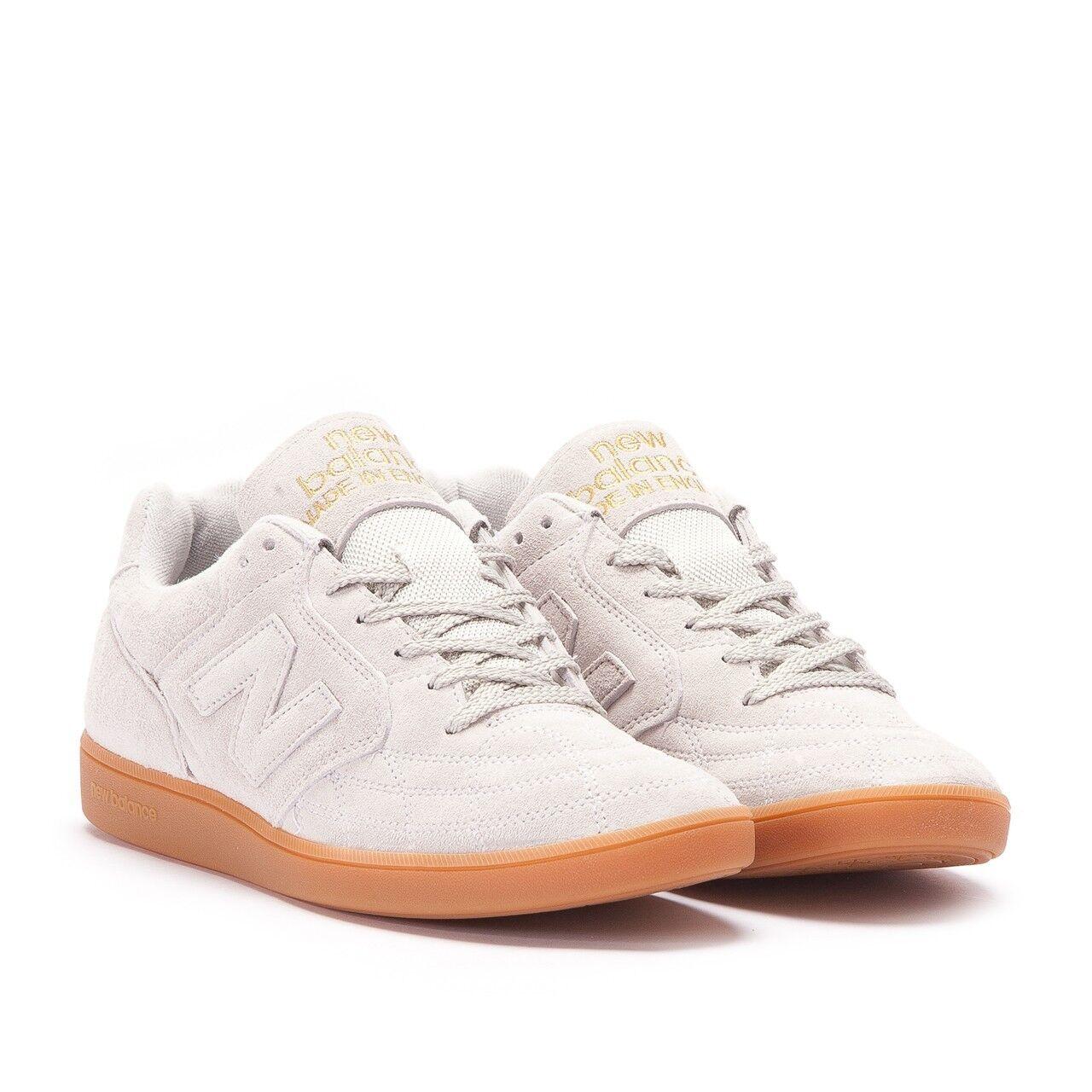 New balance épica TR blanco goma de mascar Zapatillas Hecho en Inglaterra casuales Zapatillas mascar Talla fccf34