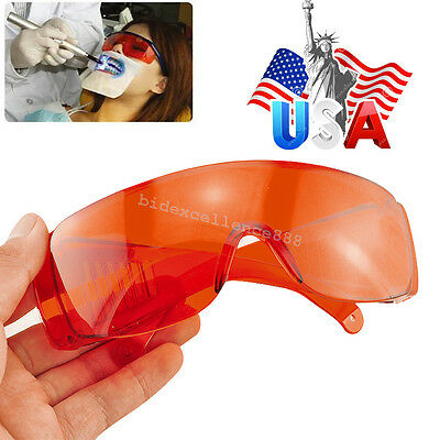 Dental Protective Shield Mask Glasses Eyewear for Curing Light Whitening Safety