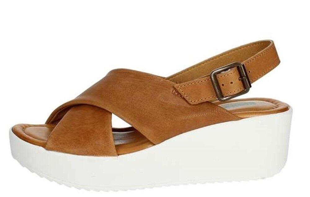 BIONATURA 67 A 2025 sandales femmes compensé tongs cuir nubuck memory