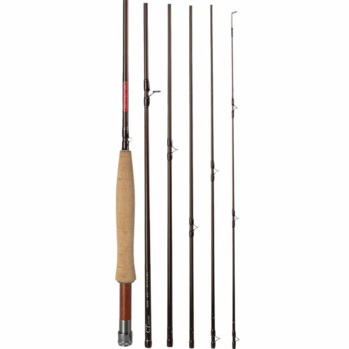 "REDINGTON CLASSIC TROUT 590-6 9/' 0/"" #5 WEIGHT 6 PC PACK FLY ROD TUBE WARRANTY"