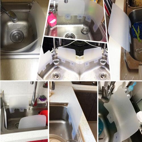 New Practical Kitchen Wash Sink Washing Baffle Prevent Water Splash Guard Board