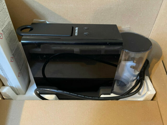 Nespresso by Krups XN110B40 Essenza Mini Pod Coffee Machine Black / Used