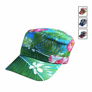 4662ce59f83 Floral Cadet Cap Cadet Military Style Hat Army Cap Jamaica Hawaii ...