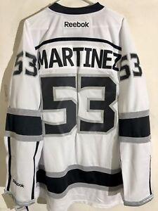 53f277be5d7 Reebok Premier NHL Jersey Los Angeles Kings Alec Martinez White sz ...