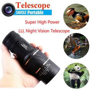 16X52-Portable-Super-High-Power-HD-OPTICS-Light-Night-Vision-Monocular-Telescope