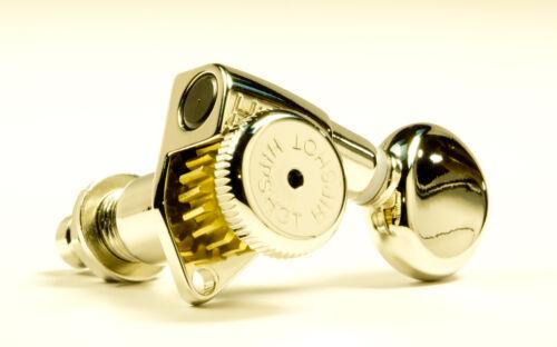 Genuine Hipshot Button Set of 6 D05 Vintage /'Butterbean/' Nickel also fits Grover