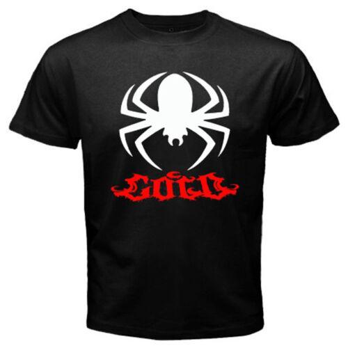 Nouveau Froid Bande Spider Logo Rock Band Homme T-shirt noir taille S à 3XL