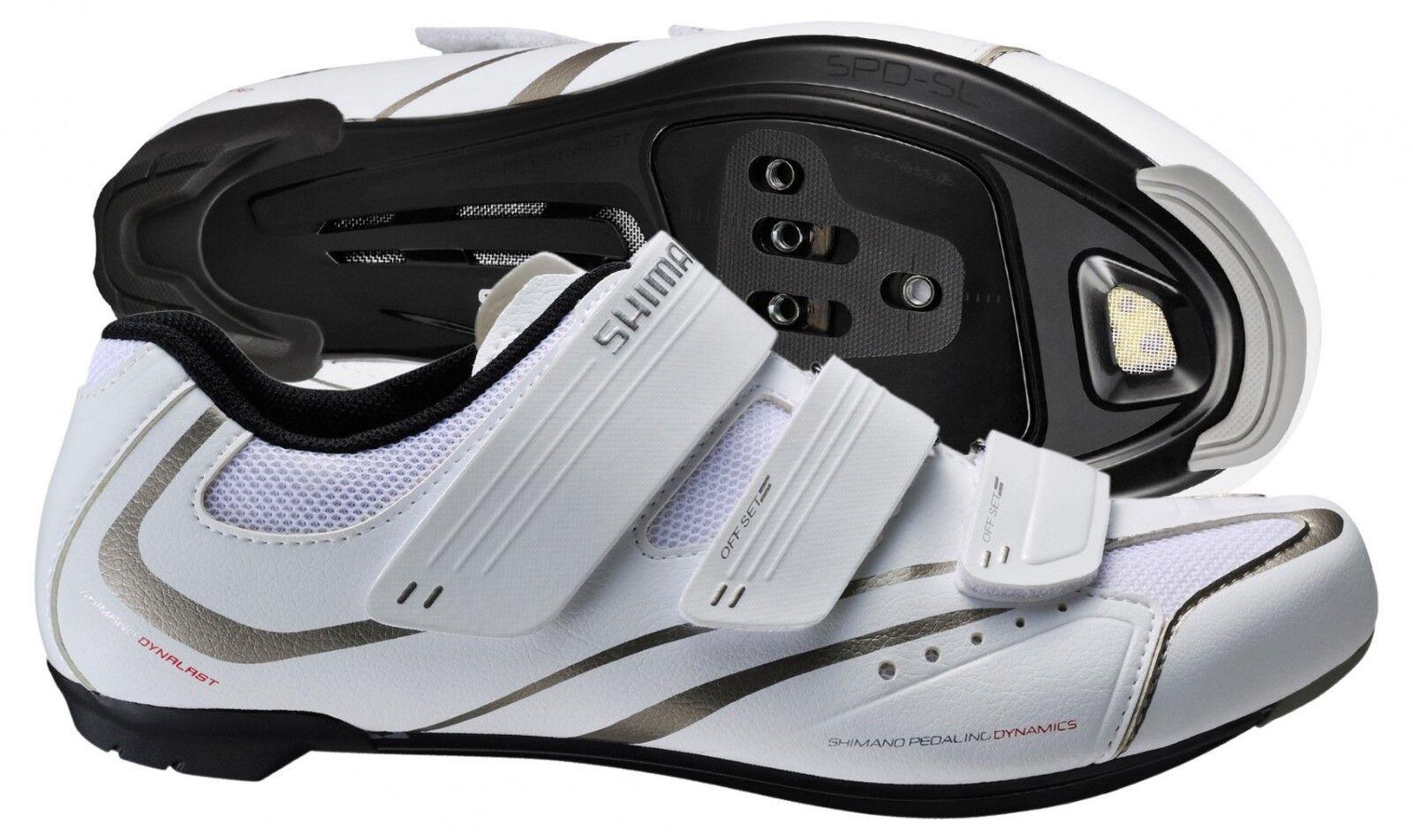 Shimano SH-WR32 Road Cycling Women's shoes SPD SL Clipless Bike Spinning White