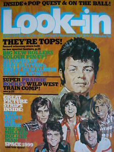 LOOK-IN MAGAZINE 22ND NOV 1975 - BAY CITY ROLLERS POSTER!!