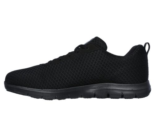 Femme noir Work Anti Slip Skechers 77210 Safe Mousse Mᄄᆭmoire Eh Chaussures sdQrthC