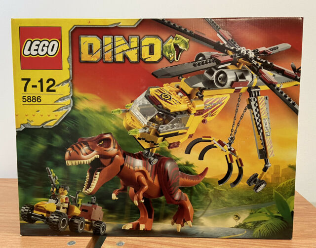 LEGO DINO 5886 T-REX HUNER NEW SEALED Retired Dinosaur