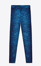 *BNWT* Kenzo x H&M Wool Leggings Blue Tiger Stripe Print-4