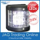 24V SMD LED WHITE STERN LIGHT-Side Mount Boat/Yacht/Marine 135° Navigation Light