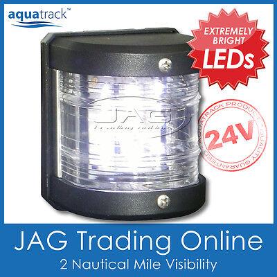 12V SMD LED WHITE STERN LIGHT-Side Mount Boat//Yacht//Marine 135° Navigation Light