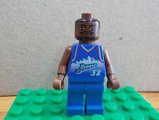 NBA Lego Karl Malone Utah Jazz #32 Mini Figure Rare