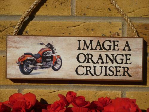 Signo Personalizado Moto Criuser touring bike Harley Davidson Motocicleta De Regalo
