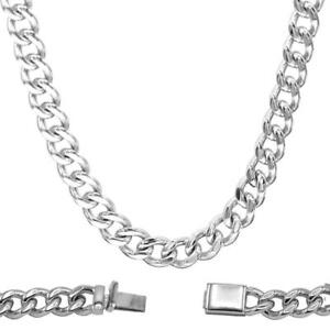 Cuban-Link-Curb-Necklace-Stainless-Steel-Chain-Fashion-Jewelry-for-Men-28-034-Long