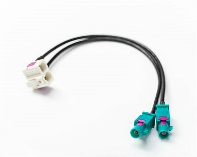 Antennenadapter FAKRA Secker auf ISO 50 OHM passend für BMW E46 3-er M