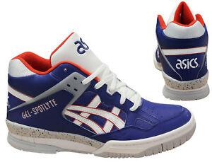 Zapatillas H447l cordones spotlyte Gel 5201 altas para hombre D84 zapatillas azul de deporte Asics marino con wrOwf