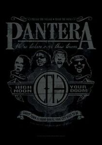 PANTERA-HIGH-NOON-YOUR-DOOM-FABRIC-POSTER-30x40-WALL-HANGING-HFL1134
