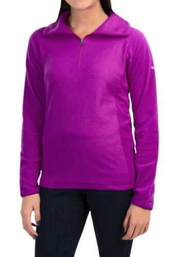 Columbia ~ Glacial Fleece III Women/'s Zip Neck Sweatshirt $50 NWT